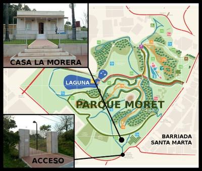 Casa La Morera (plano con fotos)
