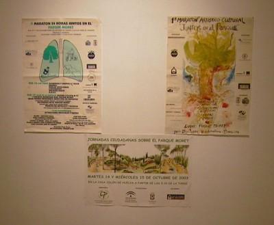 Exposición fotográfica en la Casa Colón (2004, foto 2 de la inauguración)