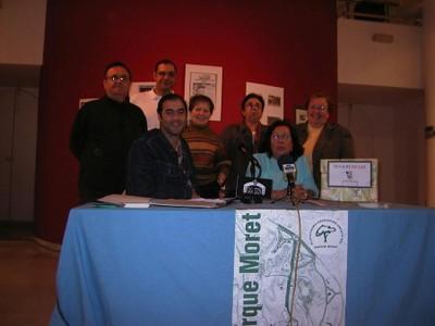 Exposición fotográfica en la Casa Colón (2004, foto 7 de la inauguración)