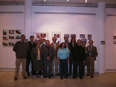 Exposición fotográfica en la Casa Colón (2004, foto 10 de la inauguración)