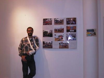 Exposición fotográfica en la Casa Colón (2004, foto 7 del montaje)
