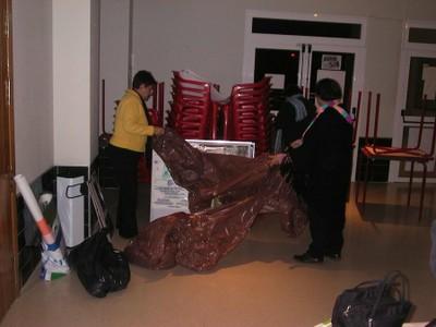 Recogida de la exposición fotográfica en La Orden (2005, foto 9)