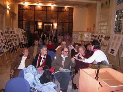Inauguración exposición fotográfica en Mora Claros (2005, foto 1)