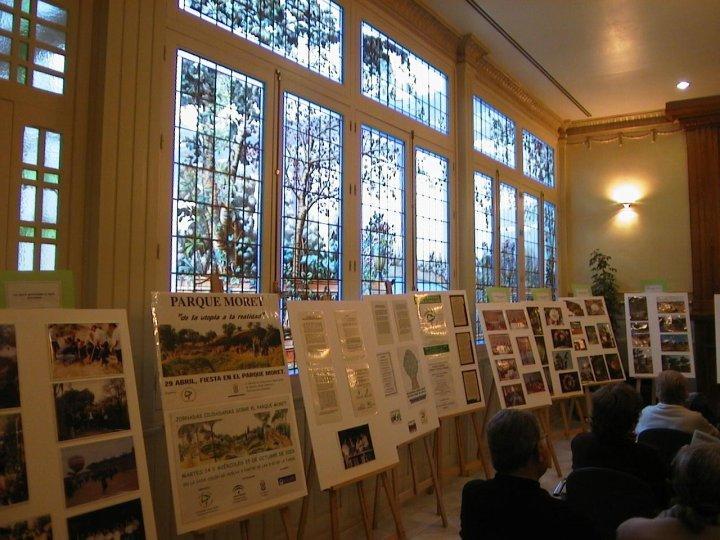 Inauguración exposición fotográfica en Mora Claros (2005, foto 2)