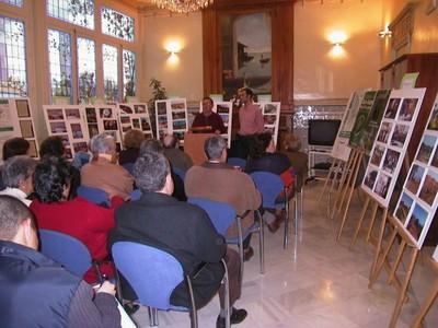 Inauguración exposición fotográfica en Mora Claros (2005, foto 10)