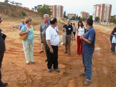 Visita a las obras del Parque Moret (foto 17)