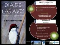 Día de las Aves 2011 en el Parque Moret