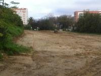 El Parque Moret contará pronto con más parcelas en los huertos ecológicos